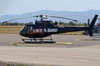 F-GSKA @ LFLU - Jet Solutions AS350 - by FerryPNL