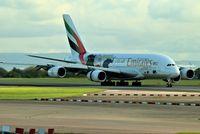 A6-EER @ EGCC - just landed on runway [23R] @ man egcc uk. - by andysantini