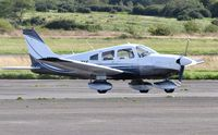 G-TIMK @ EGFH - Visiting Archer II. - by Roger Winser