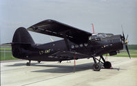 LY-AMF @ EHLE - Black with golden registration, crashed Mitton UK 15-10-1999 and w/o - by Gerrit van de Veen
