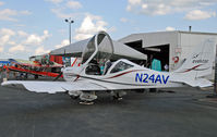 N24AV @ KLNS - New registration for this sport plane; N24AV was previously assigned to a balloon. - by Daniel L. Berek