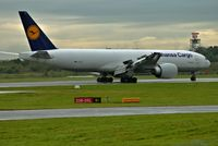 D-ALFE @ EGCC - just landed on runway [23R] at man egcc uk. - by andysantini