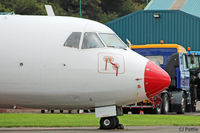 LY-ARI @ EGPN - Nose detail at Dundee - by Clive Pattle