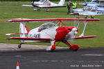 G-SKIE @ EGCB - at Barton - by Chris Hall