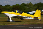 G-BZRV @ EGCB - at Barton - by Chris Hall