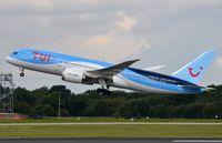 G-TUIH @ EGCC - TUI B788 departure - by FerryPNL