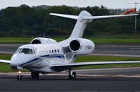 D-BOOC @ EGCC - Impressive engines on this Citation X. - by FerryPNL