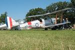 N12731 @ OSH - 1942 De Havilland Australia DH-82A Tiger Moth, c/n: DHA914 - by Timothy Aanerud