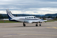 N121CF @ LSZG - at Grenchen - by sparrow9