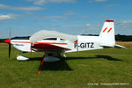 F-GITZ @ EGMA - at Fowlmere - by Chris Hall