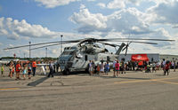165345 @ KLNS - Airshow enthusiasts swarm this, the largest, heaviest, and most powerful helicopter outside the Russian Federation. - by Daniel L. Berek