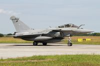10 @ LFRJ - Dassault Rafale M, Taxiing to flight line, Landivisiau Naval Air Base (LFRJ) Tiger Meet 2017 - by Yves-Q