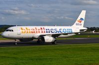 LZ-BHH @ EGCC - Balkan Holiday A320 taxying past. - by FerryPNL