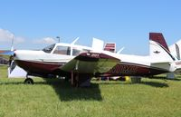 N11MH @ KOSH - Mooney M20J - by Mark Pasqualino