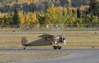 N18285 @ CYXY - Taking off from Whitehorse, Yukon, on a brilliant Fall day. - by Murray Lundberg