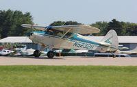 N5232H @ KOSH - Piper PA-16