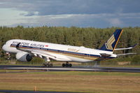 9V-SMF @ ESSA - Singapore Airlines, 10 000th Airbus - by Jan Buisman