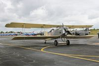 F-POST @ LFBD - Breguet 14P Replica, Taxiing to parking area, Bordeaux-Mérignac airport (LFBD-BOD) Open day 2017 - by Yves-Q