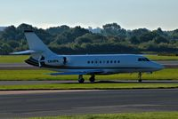 CS-DFK @ EGCC - just left runway [23R] now taxing in to the [FBO exc ramp] at egcc uk. - by andysantini