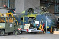149 @ LFBD - Sikorsky S-58 - H-34, under restoration at C.A.E.A museum, Bordeaux-Merignac Air base 106 (LFBD-BOD) - by Yves-Q