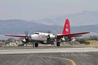 N9855F @ KHLN - Lockheed P2V getting ready to depart Helena during a very busy fire season for another run on a fire. - by Eric Olsen