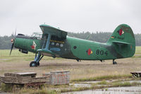 D-FBAW - Aircraft at Heringsdorf-Garz Germany with pinup Anuska on the nose - by Gerrit van de Veen