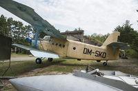 DM-SKO @ EDAV - This An-2T has cn 1G63-32 and is ex 05 RED RA-05825 ex SovAF. Taken at Finow Germany - by Gerrit van de Veen