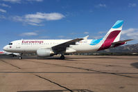 D-ABFP @ LFKC - Taxiing. New colours Eurowings