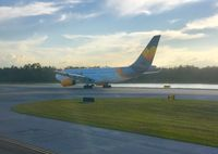 G-MDBD @ MCO - MCO waiting for takeoff - by E. James