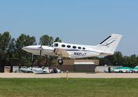 N421JT @ KOSH - Cessna 421C