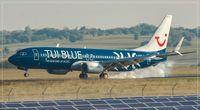 D-ATUD @ EDDR - Boeing 737-8K5 - by Jerzy Maciaszek