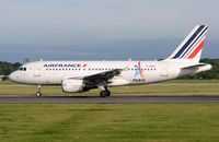 F-GRXL @ EGCC - Air France A319 taking-off. - by FerryPNL
