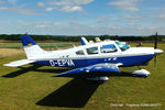 D-EPVA @ EGMA - at Fowlmere - by Chris Hall