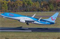D-ABKI @ EDDR - Boeing 737-86J, - by Jerzy Maciaszek