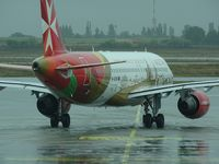 9H-AEO @ LFLL - Isla Citta Invicta Air Malta, rainy day, and departure to MLA - by JC Ravon - FRENCHSKY