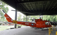 61-0788 - A helicopter with bright plumage at the US Army Transportation Museum - by Daniel L. Berek