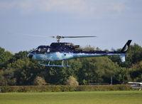 G-OOIO @ EGLD - Eurocopter AS-350B-3 Ecureuil at Denham. - by moxy
