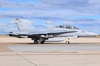 164032 @ KBOI - Taxiing to RWY 28L. VMFAT-101 Sharpshooters, NAS Miramar, CA. - by Gerald Howard