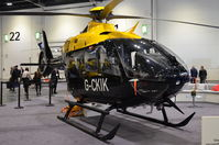 G-CKIK @ EGLC - Parked inside the ExCel Centre, London, for Helitech 2017.