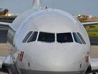 D-AKNT @ LFPG - At CDG terminal 1 Germanwings 4U8407 ready to departure destination Berlin Tegel Airport - by JC Ravon - FRENCHSKY