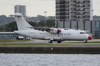 LY-DAT @ EGLC - Just landed at London City Airport. - by Graham Reeve