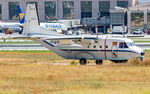 TR12D-79 @ LEMG - taxying to the military apron at Malaga