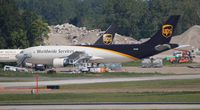 N146UP @ DTW - UPS A300 - by Florida Metal