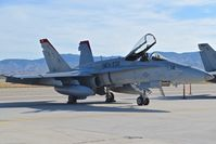164906 @ KBOI - parked on the south GA ramp.  VMFA-232 Red Devils, NAS Miramar, CA. - by Gerald Howard