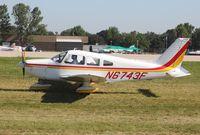 N6743F @ KOSH - Piper PA-28-151