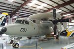 161344 - Grumman E-2C Hawkeye at the Yanks Air Museum, Chino CA