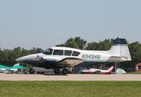 N3494B @ KOSH - Piper PA-23 - by Mark Pasqualino