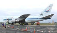 N747NA @ DAB - NASA SOFIA 747SP