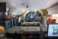 N747NA @ DAB - NASA SOFIA 747SP interior