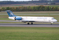 4O-AOM @ LOWW - Montenegro Airlines F100 - by Andreas Ranner